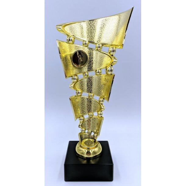 Guld trofæ 26 cm