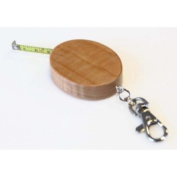 Målebånd nøglering i Ahorntræ