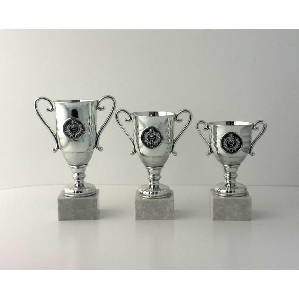 Lille sølv pokal i 3 størrelser