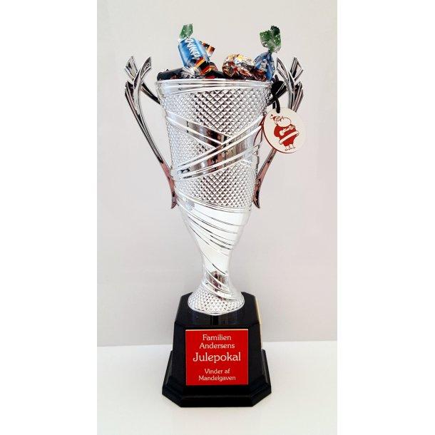Luksus Julepokalen - Årets Mandelgave Pokal
