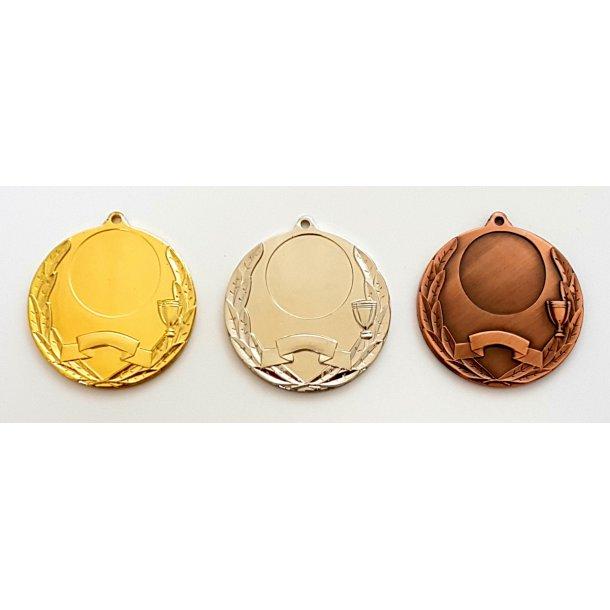 Medalje Ø 50 mm
