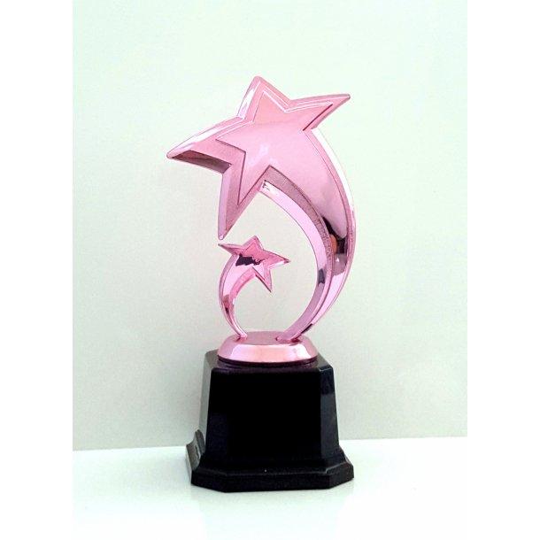 Pink Stjerne Trofæ
