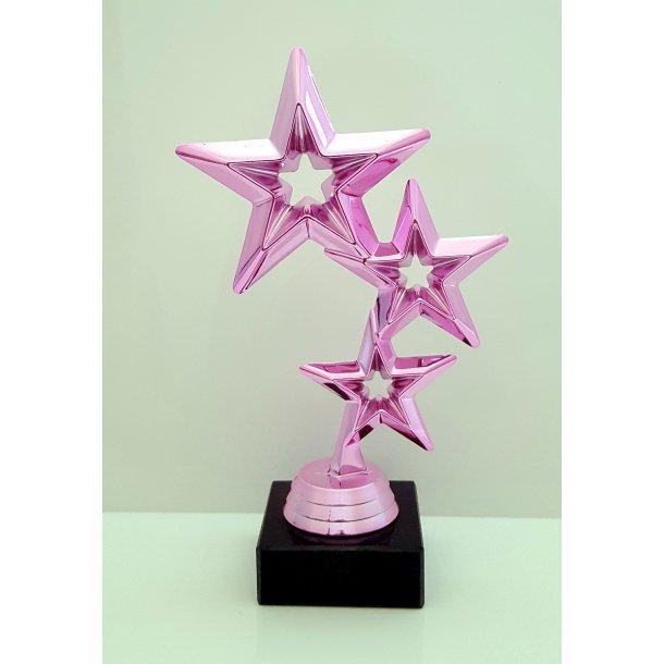 Stjerne pokal i pink
