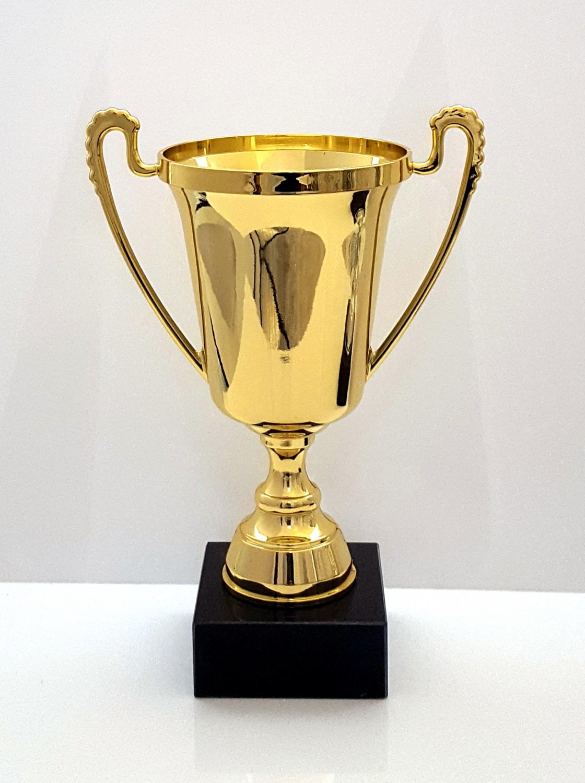 Elegant Blank Guld Eller S U00f8lv Pokal 27 Cm Alle Pokaler