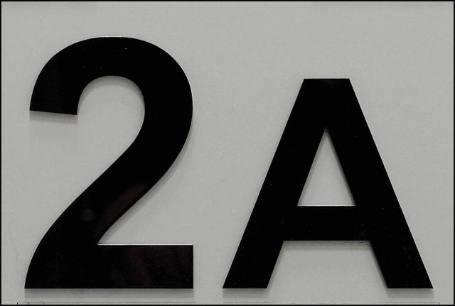 Husnumre i sort