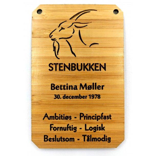 Horoskop træ skilt Stenbukken