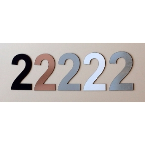 Husnummer MINI 2-4-6-8 cm